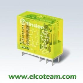 Finder 50129012 Relè di sicurezza EN 50205 Bobina 12 VDC
