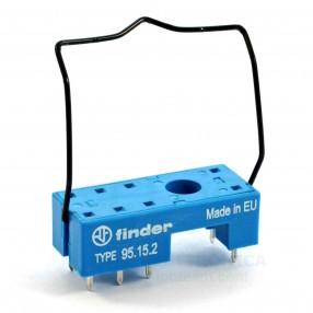Finder 95.15.2SMA Zoccolo per PCB per relè passo 5 mm