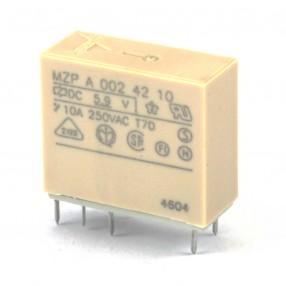 Gavazzi MZPA0024210 Relè 6VDC 2 Scambi DPDT 10A 250VAC