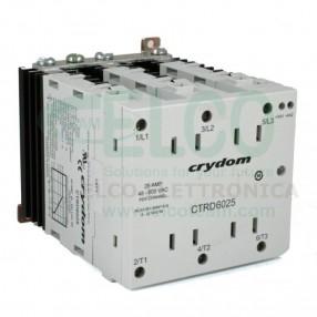 CRYDOM CTRD6025 Rele' Statico Trifase 25A 600 VAC