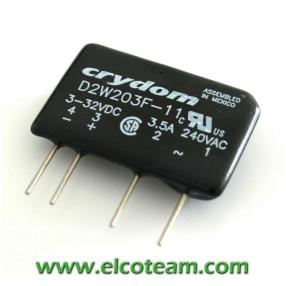 CRYDOM D2W203F-11 Rele' Statico 3,5A 240 VAC (Relè)