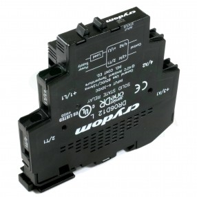 Crydom DR06D12 Relè Stato Solido 12A 60VDC Din-Rail