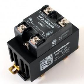 Crydom HS301DR-D4850 Rele' Statico 50A 480 VAC con Dissipatore