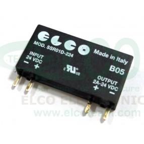 ELCO SSR01D-224' Statico 2A 24 VDC