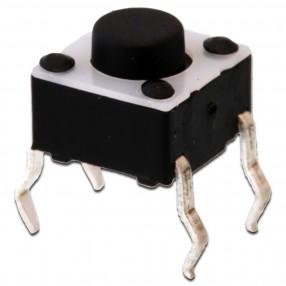 Pulsantino Tact Switch 6x6mm altezza 5mm