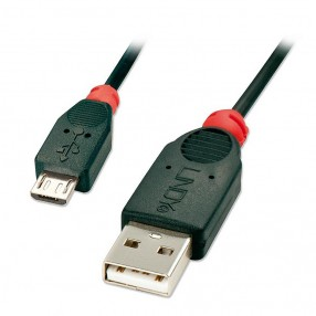 Cavo USB 2.0 A - Micro B Maschio - Maschio 1 metro