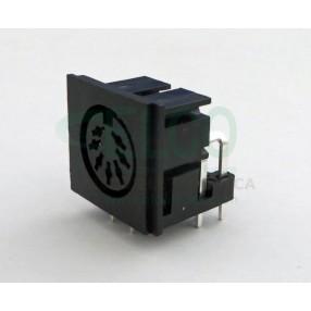 Connettore Femmina DIN 7 poli PCB 90°