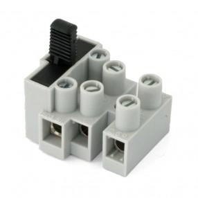Adels 503SI-3D Morsettiera 3 vie con Portafusibile