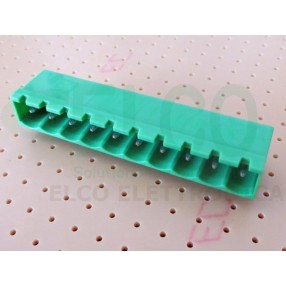 Connettore Maschio 10 poli passo 5mm STELVIO CPM SQ