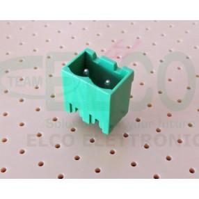 Connettore Maschio 2 poli passo 5mm STELVIO CPM