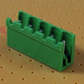 Connettore Maschio 5 poli passo 5mm STELVIO CPM5-5/A