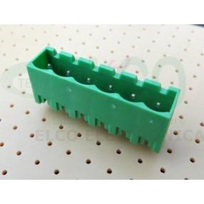 Connettore Maschio 6 poli passo 5mm STELVIO CPM