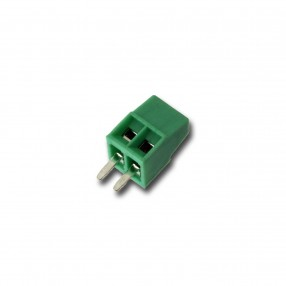 Morsetto miniatura da PCB 2 poli passo 2,54mm
