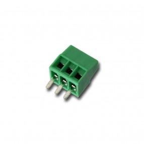 Morsetto miniatura da PCB 3 poli passo 2,54mm