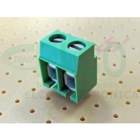Morsetto 2 poli passo 5mm STELVIO MRT12