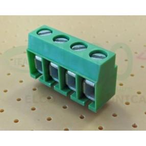 Morsetto 4 poli passo 5mm STELVIO MRT12