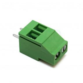Morsetto a Carrello 2 poli passo 5mm Tianli TL212V-02P-G12S Altezza 18mm