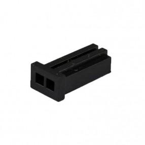 280358-0 AMPMODU MOD II Connettore 2 poli passo 2,54 mm senza contatti