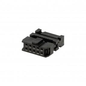 Connettore IDC Femmina 10 poli passo 2,54 mm per Cavo Flat
