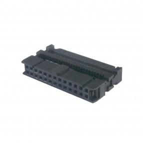 Connettore IDC Femmina 26 poli passo 2,54 mm per Cavo Flat