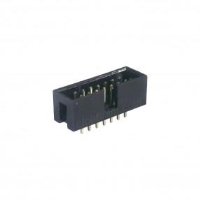 Connettore Maschio 14 poli Verticale da PCB passo 2,54 mm per prese IDC Connfly