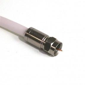 Connettore F a compressione per cavo 6,8 mm serie Compression MicroTek