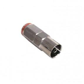 Presa TV IEC volante dritta per cavo Ø 5 mm serie Quick MicroTek (