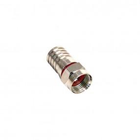 Connettore F a crimpare per cavo 5 mm serie MR MicroTek