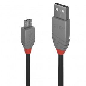 Cavo USB 2.0 da Tipo A a Micro USB Tipo B da 1 metro Lindy 36732