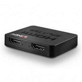 Splitter HDMI 4K a 2 porte Lindy