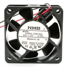NMB 2408NL-05W-B50 Ventilatore 60X60X20 24VDC su Cuscinetto a Sfera