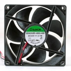 Sunon EE92252B1-000U-A99 Ventilatore 92X92x25 24VDC su Cuscinetto