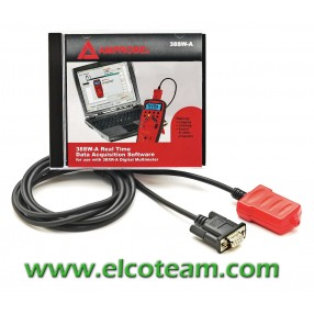Software e cavo RS-232 ottico per Amprobe 38XR-A