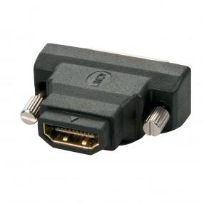 Connettete un display digitale DVI-D o DVI-I a una periferica con un interfaccia video HDMI Permette a un cavo HDMI tipo A di essere collegato a una periferica con ingresso DVI-D o DVI-I Supporta connettori DVI-D e DVI-I, ma solo segnali DVI-D