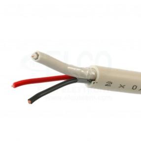 Micro Tek FMC MC2050H Cavo mini coassiale 1x75Ω + alimentazione 2x0,50mmq per impianti TVCC HD-SDI