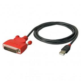 Lindy 42812 Convertitore USB - Seriale 25 Poli