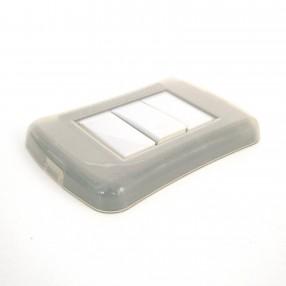 Placca Interruttore Radio FreeLux 1 Pulsante colore Bianco