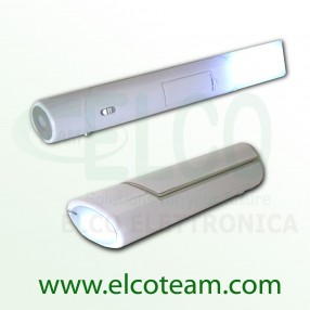 Lampada 2 in 1 a led da tavolo con funzione torcia
