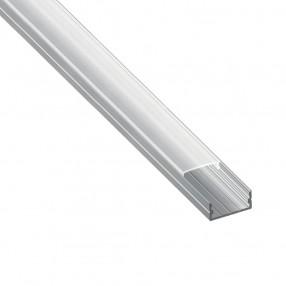 Profilo in alluminio estruso anodizzato per applicazione Led - Karma Led PROF42N