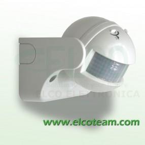 Sensore PIR crepuscolare per accensione lampade