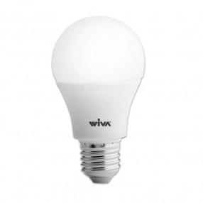 Lampada Led goccia opale 8W attacco E27 3000K Wiva 12100231