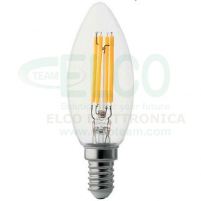 Lampada Wire LED a filamento 4W base E14 - 35W equivalenti