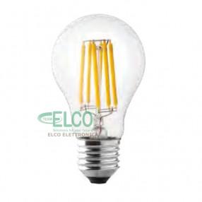 Lampada Wire LED a filamento 8W attacco E27 3000°K Wiva 12100541