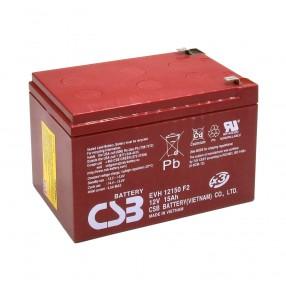 Batteria CICLICA al piombo 12V 15Ah CSB