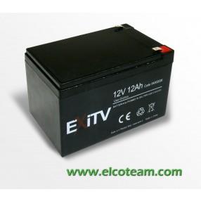 Batteria CICLICA al piombo 12V 12Ah Exitv