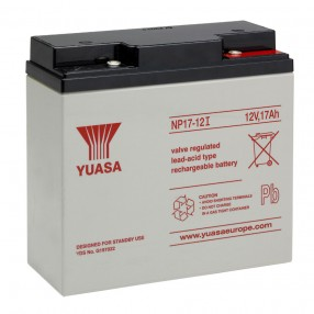 YUASA NP17-12I Batteria ermetica al piombo 12V 17Ah