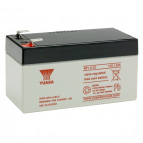 YUASA NP1.2-12 Batteria ermetica al piombo 12V 1,2Ah