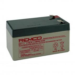 Remco RM12-1.3 Batteria ermetica al piombo 12V 1,3 Ah