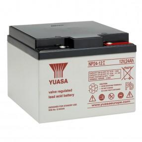 YUASA NP24-12I Batteria ermetica al piombo 12V 24Ah
