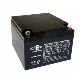 Batteria ermetica al piombo 12V 26Ah EnergyTeam